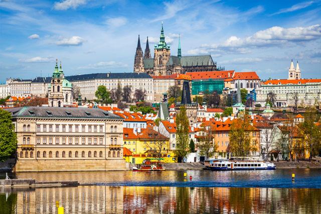 История Пражского града