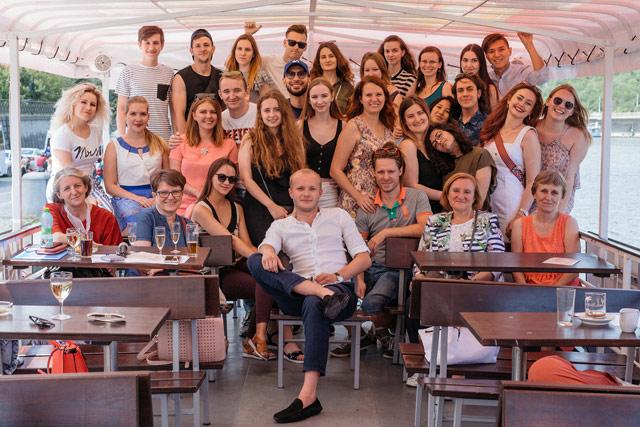 выпускной студентов в Чехии