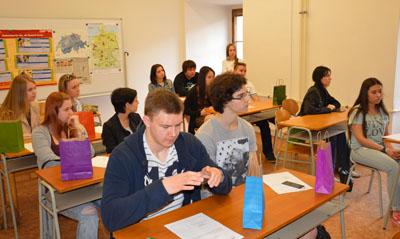 Будущие студенты на курсах чешского языка