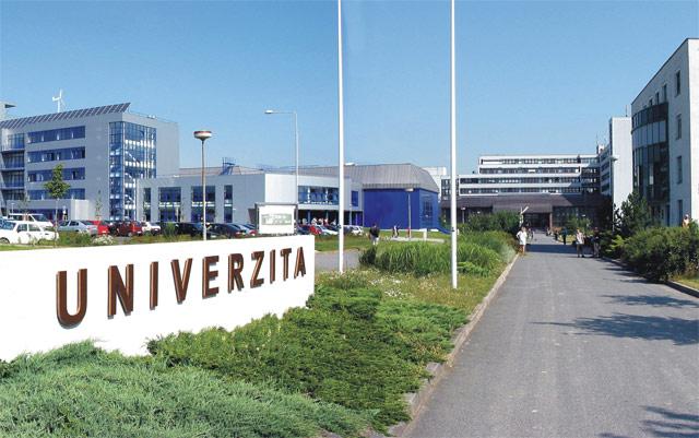 Западночешский университет в Плзни